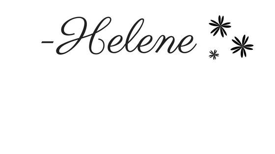 -Helene sig sparkles
