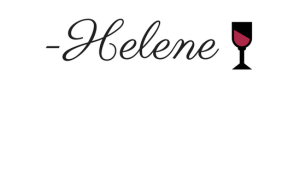 -Helene sig red wine glass