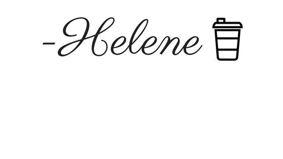 -Helene sig to-go coffee