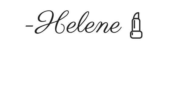 -Helene sig lipstick