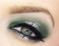 army green eyeshadow pinterest