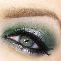 army green eyeshadow pinterest