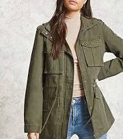 army green jacket forever21