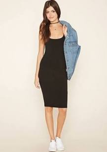 black dress forever21