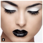 black lipstick pinterest