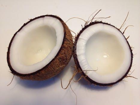 coconuts sliced pexels