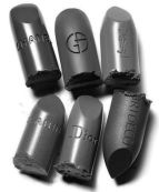 grey designer lipsticks pinterest