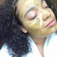 {DIY} Skin Detox Aloe Matcha Face Mask