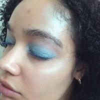 Summer Glow Mermaid Makeup ~ Ocean Blue Eyes and Silver Highlight 🌊 ☀️