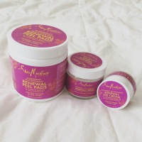 {Review} Shea Moisture Superfruit Multivitamin Renewal w/ Grapefruit Seed Oil & Lotus Seed Extract - Peel Pads, Crème, and Eye Cream