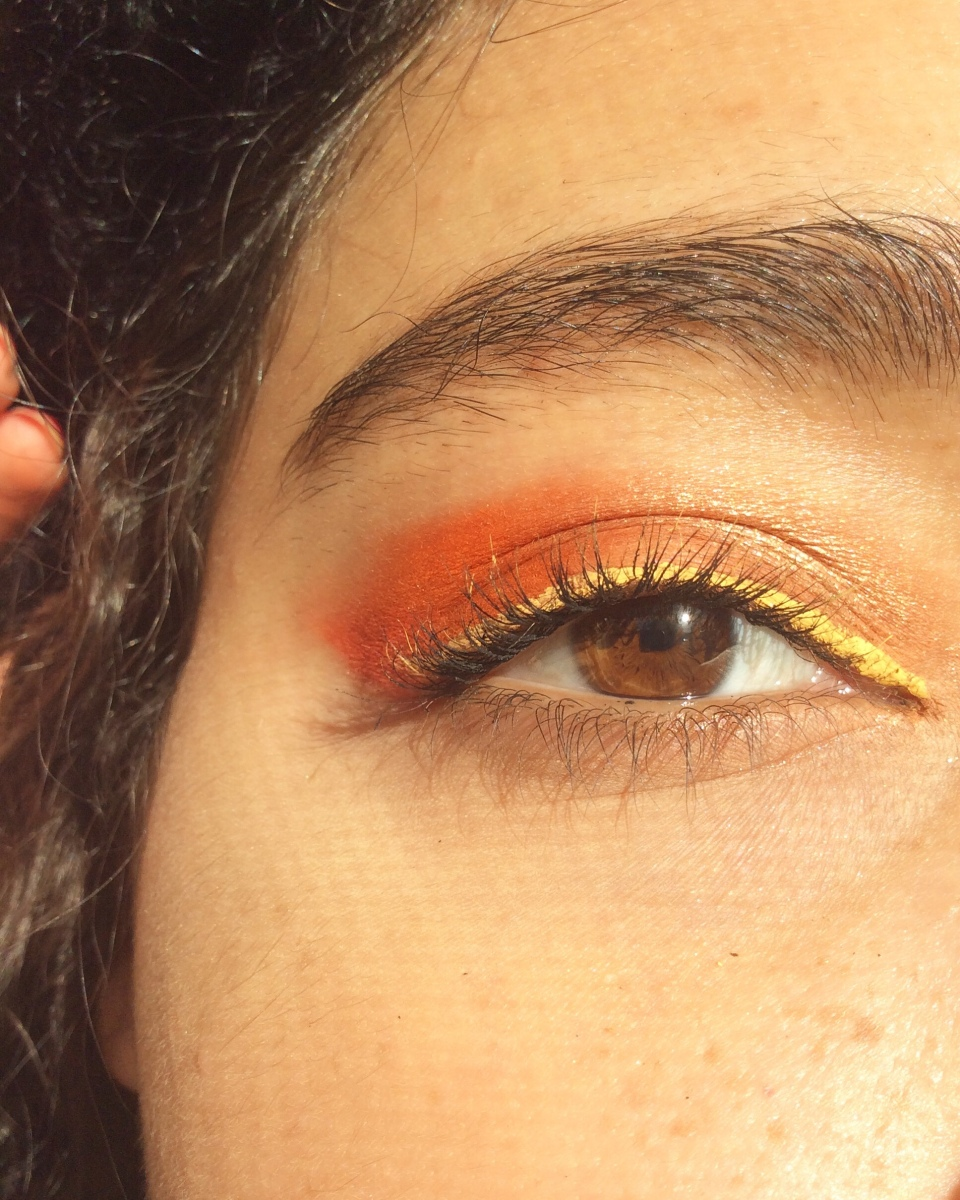 Fall Makeup Look ~ Bonfire 🔥